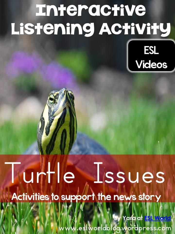 Interactive Listening Center Turtle Issues – ESL World Blog